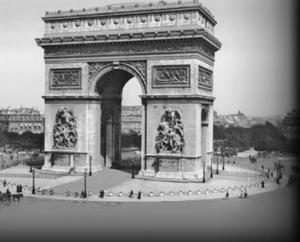 Arc de Triomphe pendant la Grande Guerre